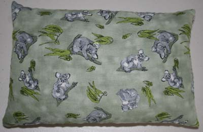 Heat Pillow in a range of Australian or Wildlife Fabrics
